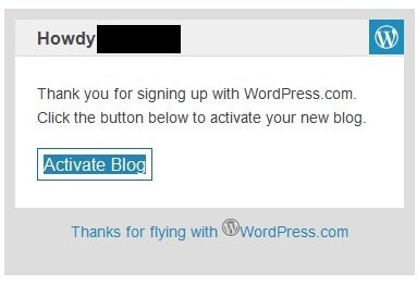 Bestaetigungsmail Wordpress